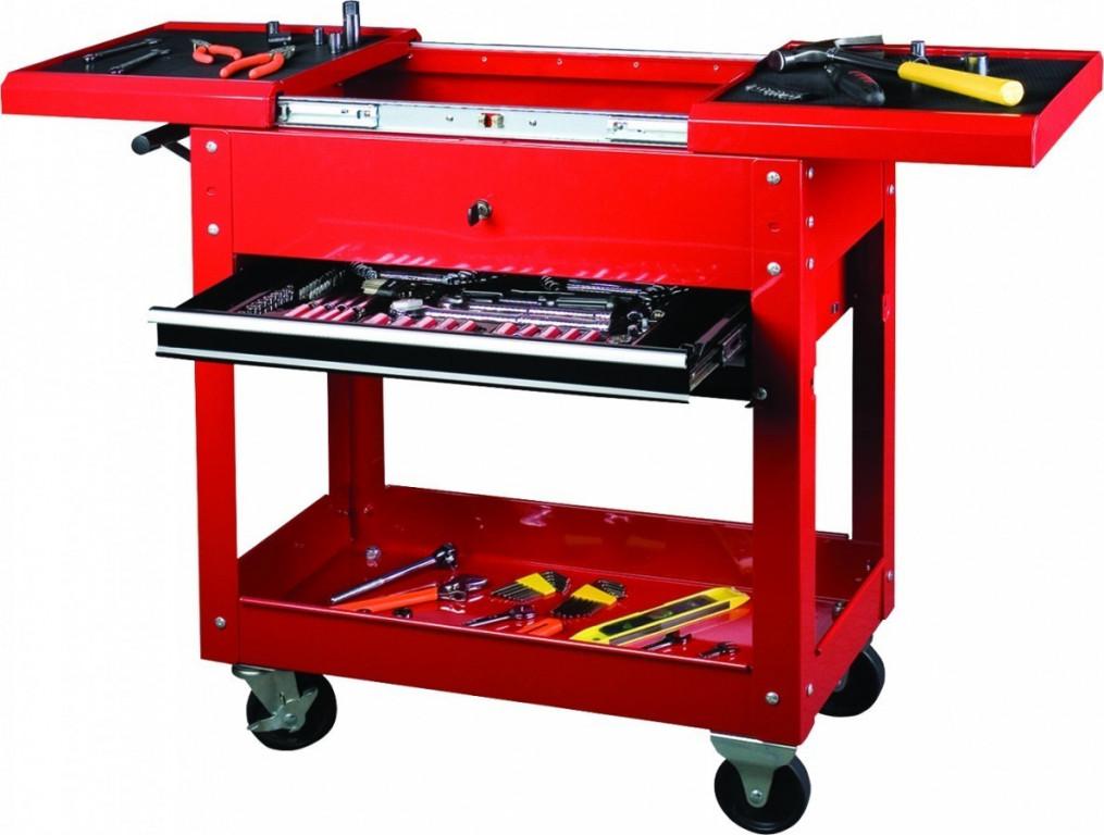 Pracovní stolek pojízdný 2 zásuvky - TC310