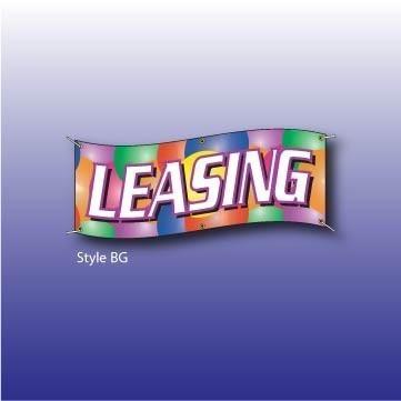 "Reklamní plachta - banner ""Leasing""  baloon"