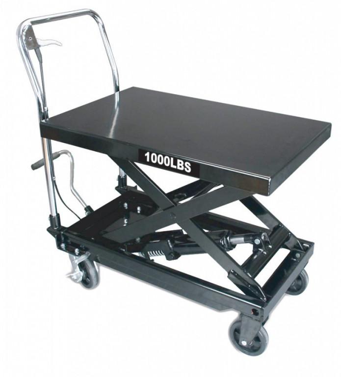 Hydraulický zvedací stůl 300 kg nůžkový - TP03001