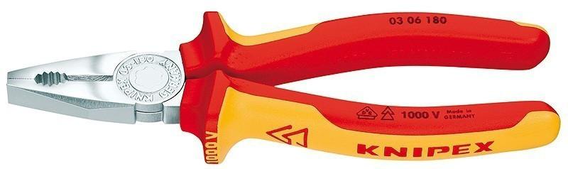 Kombinované kleště Knipex 0306180 - 180 mm