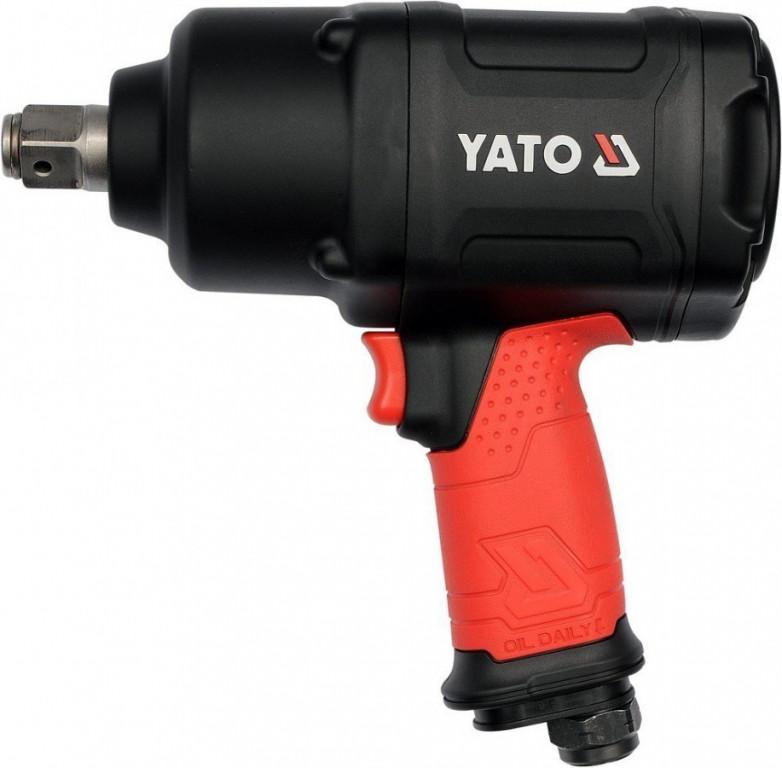 "Utahovák pneumatický 3/4"" 1630 Nm TWIN HAMMER - YT-09571"