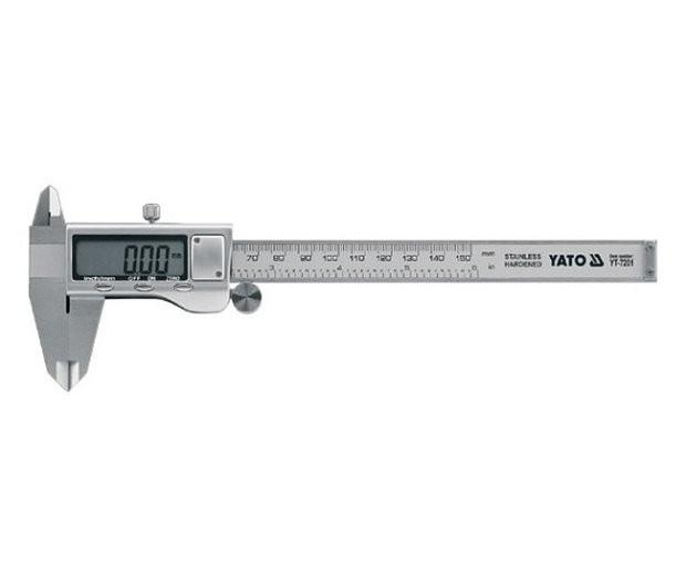 Měřítko posuvné 150 x 0,03 mm elektronické - YT-7201