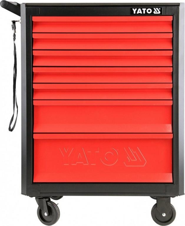 Pojízdná montážní skříň, 7 zásuvek YT-09000