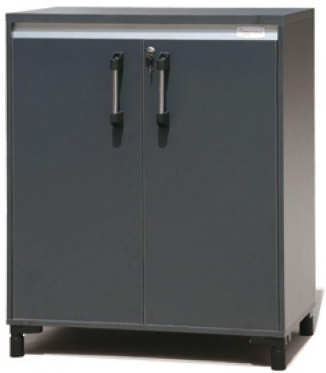 Skříňka garážového systému s dvoukřídlými dvířky ZS29018F 797 x 502 x 820 + 80 (nožičky) mm