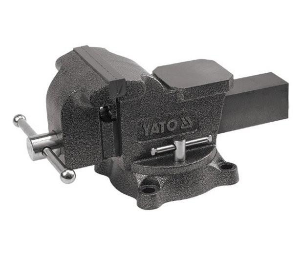 Svěrák zámečnický otočný 200 mm 21 kg - YT-6504