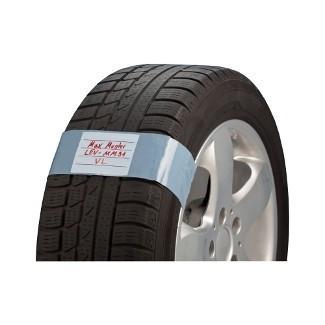 Lepící štítky na pneu 41,5 x 8 cm, 250 ks - 0850320