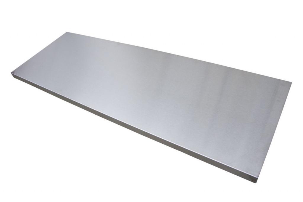 Nerez pracovní deska 1361x463x38 mm do sestavy dílenského nábytku PROFI - TGW53S