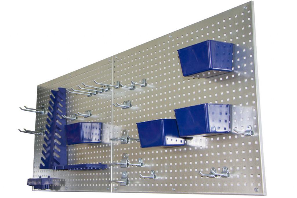 Děrovaná deska s příslušenstvím 34 dílů - JJ001143