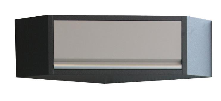 Rohová závěsná skříňka PROFI s výklopem - WGB1334