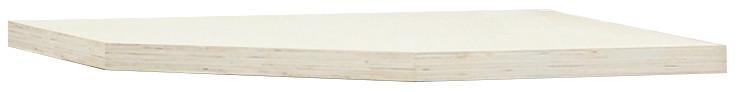 Rohová dřevěná pracovní deska do sestavy dílenského nábytku PROFI - TGW34