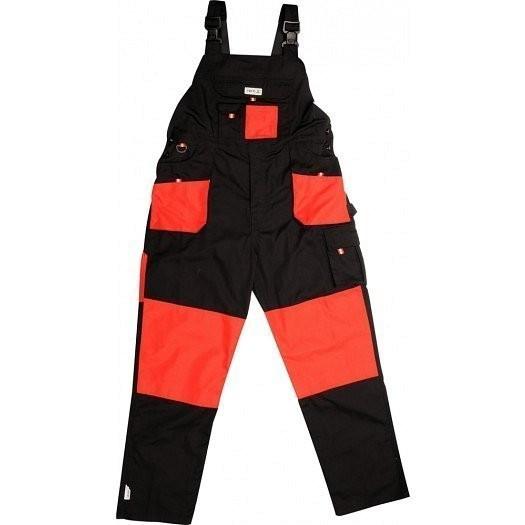 Pracovní kalhoty laclové - velikost L - YT-8032