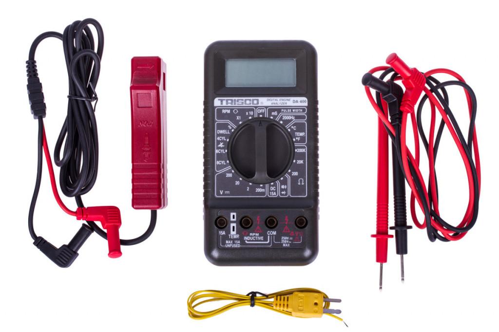 Digitální automobilový analyzátor a multimetr - C087001