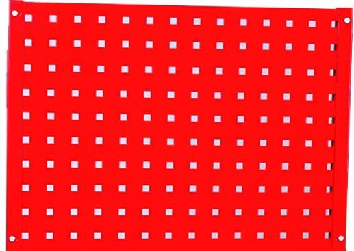Děrovaná deska k dílenskému vozíku 658x39x500mm - NTBS4000