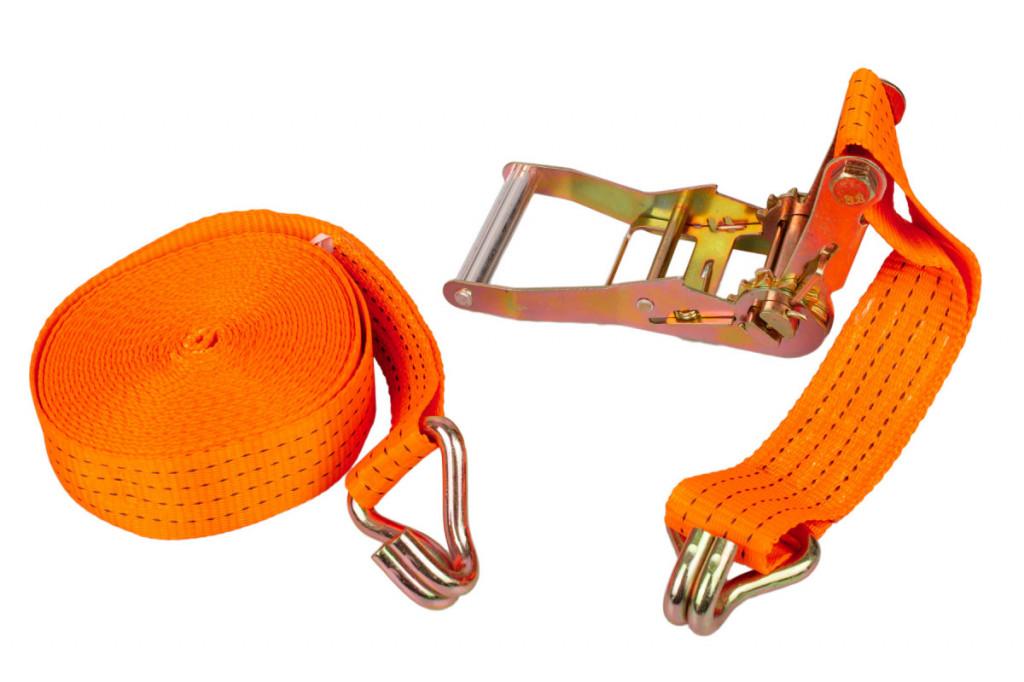 Dvoudílný upínací popruh s ráčnou 50x10000 mm, 1500 daN - HT670301