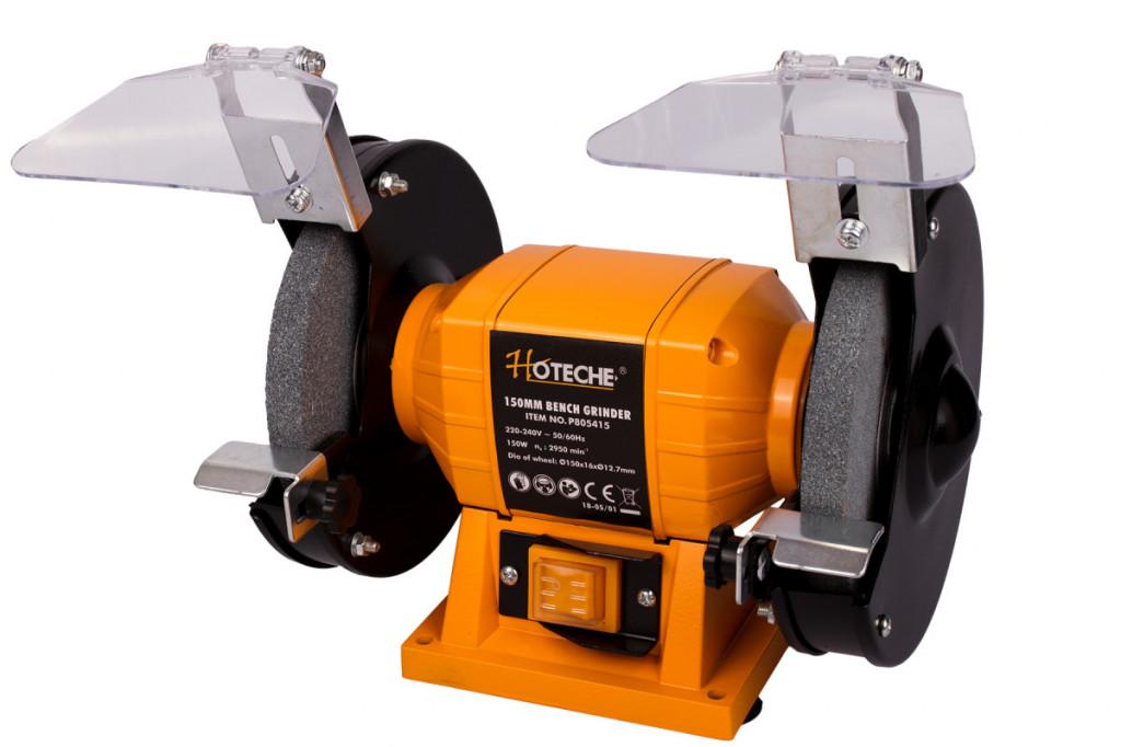 Stolní dvoukotoučová bruska 150 mm, 150 W - HTP805415