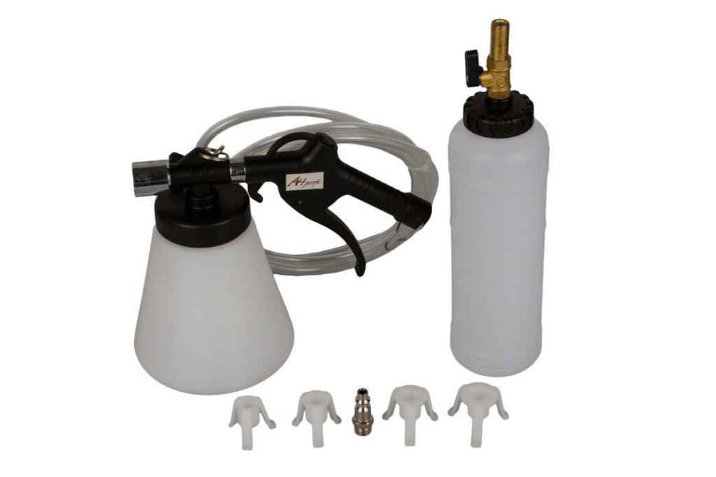 Odsávačka brzdové kapaliny 1l + plnící láhev - AH040424