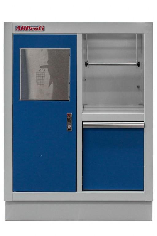 Celokovová dílenská skříňka PROFI BLUE 680x458x910 mm - MTGC1301A
