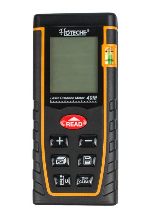 Laserový měřič vzdálenosti 40 m - HT284901
