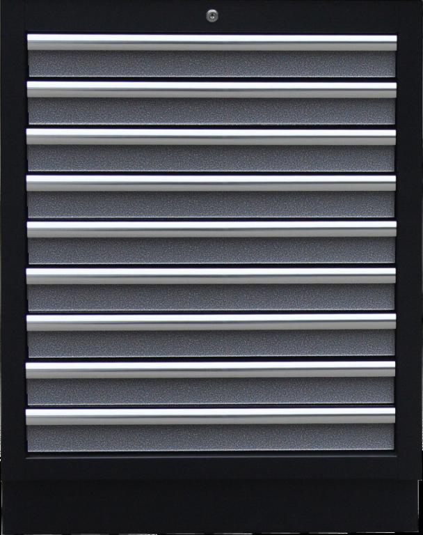 Celokovová dílenská skříňka PROFI s 9-ti šuplíky 680x910x458 mm - TGC1309