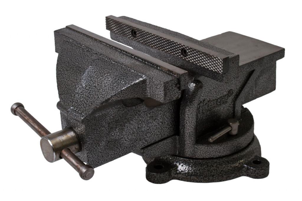 Otočný dílenský svěrák 250 mm, 25,5 kg - HT300106