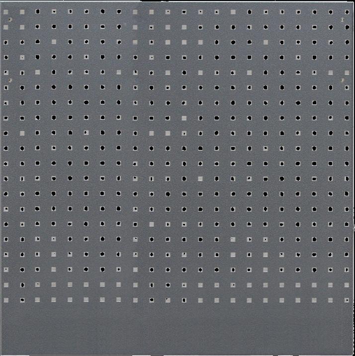 Děrovaná závěsná deska PROFI 938x1052x24 mm - WGB1337