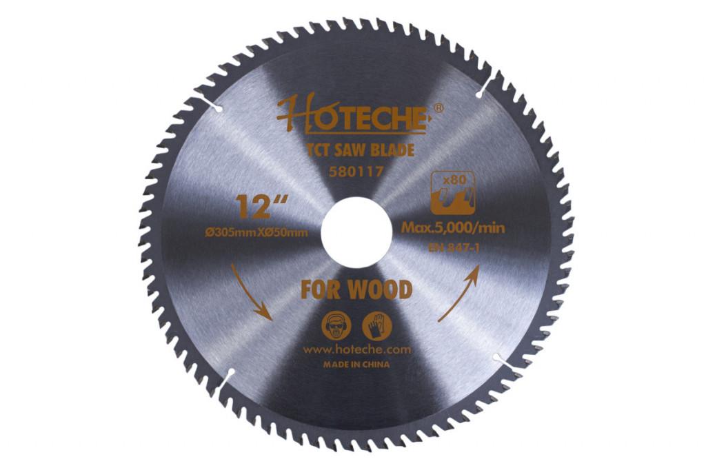 Pilový kotouč na dřevo 305 mm, 80 zubů - HT580117