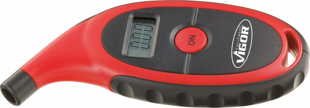 Digitální měřič tlaku pneumatik 0,15 - 7 bar - V1423