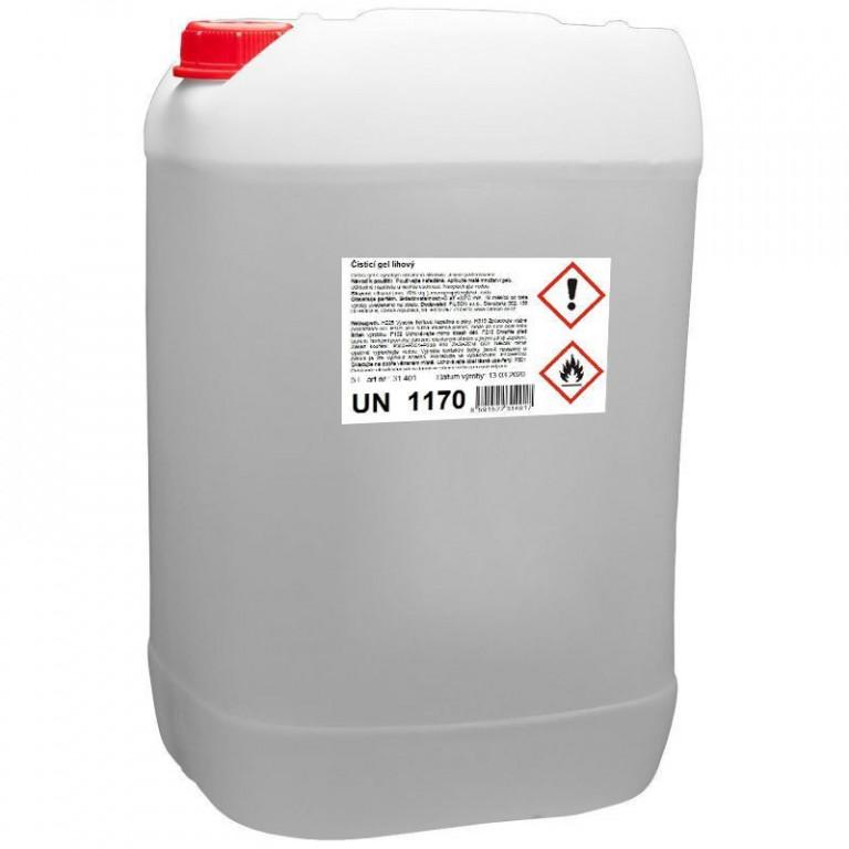 Lihový dezinfekční gel na ruce 5l - 31.401