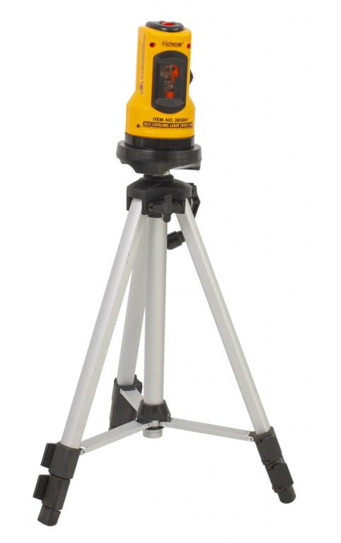 Samonivelační křížový laser se stojanem - HT285001