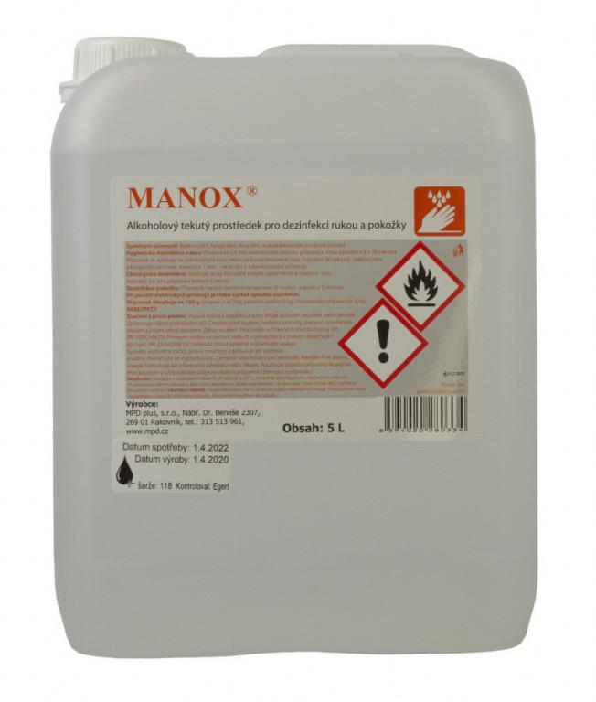 Alkoholový dezinfekční prostředek na ruce, 5l - AH7201