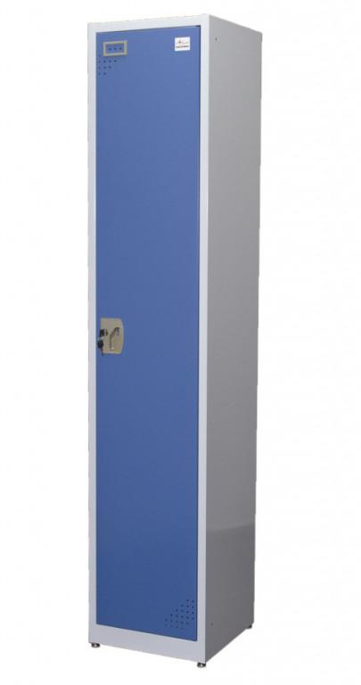Celokovová šatní skříň PROFI BLUE - LKF1155