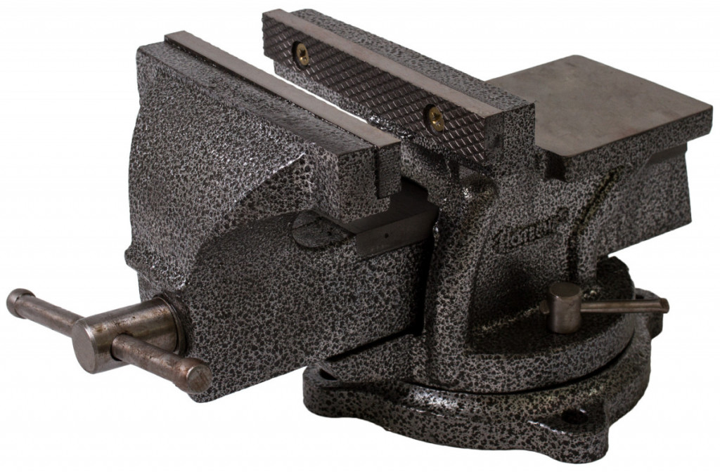 Otočný dílenský svěrák 150 mm, 10,5 kg - HT300104