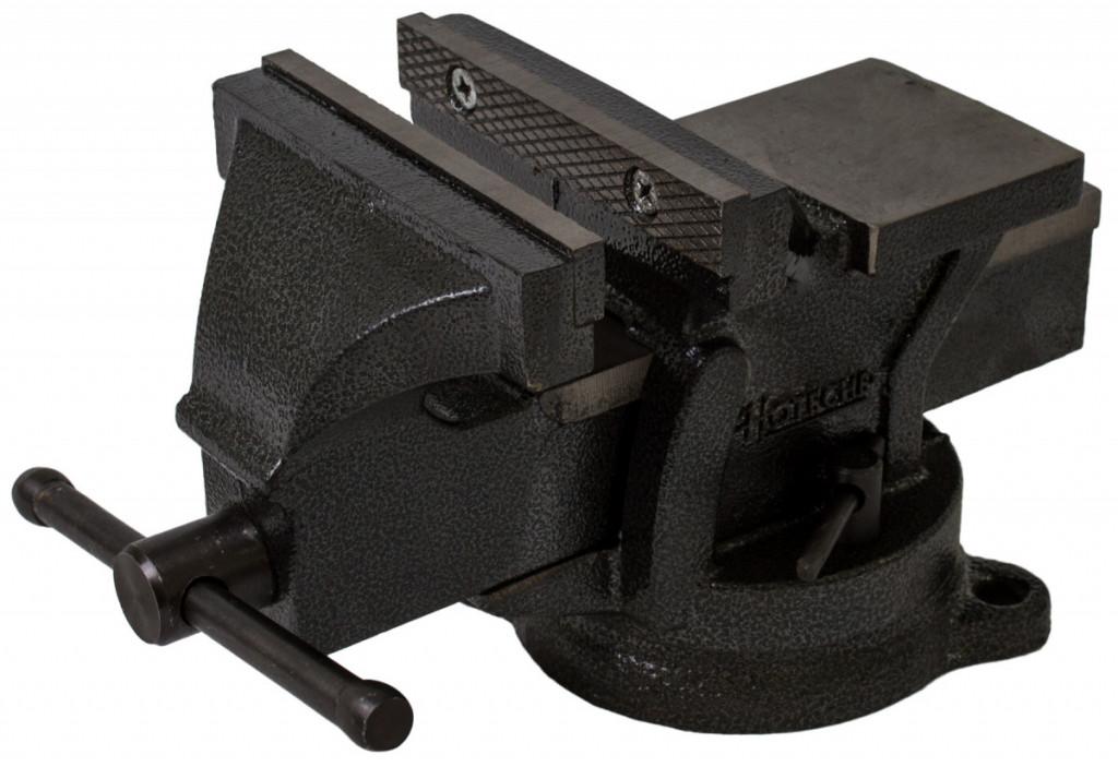 Otočný dílenský svěrák 125mm, 7,5 kg - HT300103
