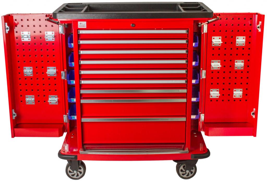 Profesionální dílenský vozík Titan na nářadí - TBR0109-X