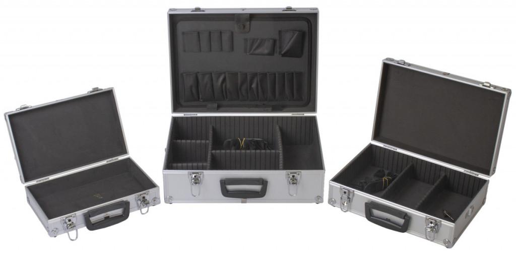 Sada hliníkových kufrů 3v1, 460 x 330 x 160 - AH14021B