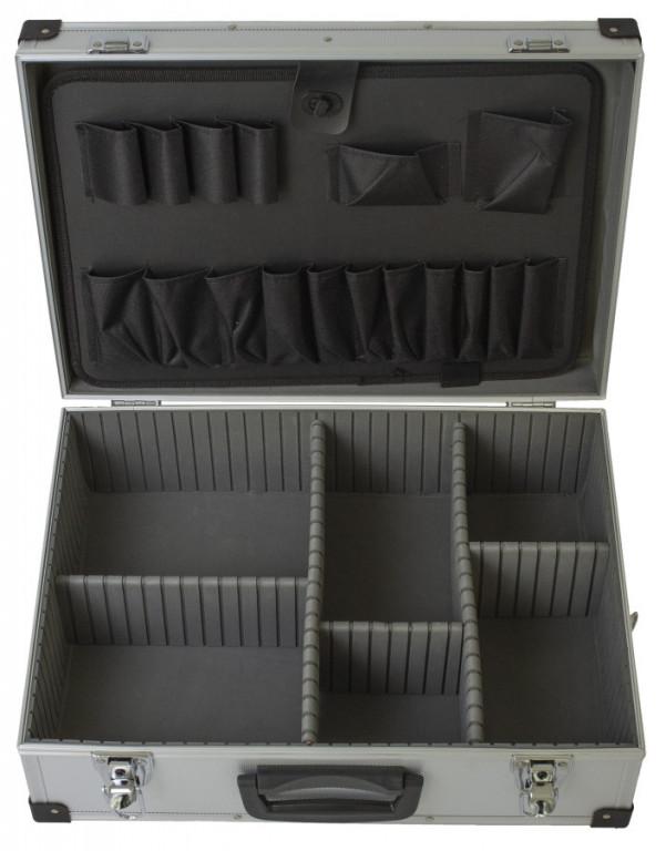 Hliníkový kufr na nářadí 455 x 330 x 160 mm - AH14018B