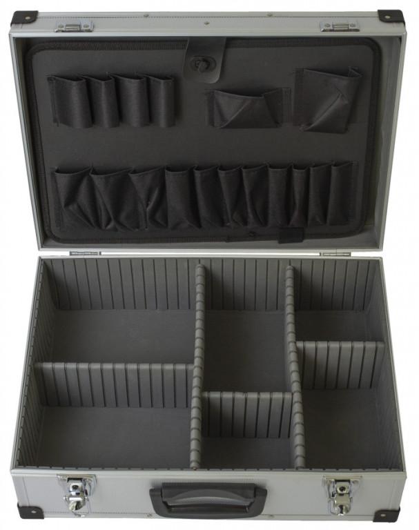 Hliníkový kufr na nářadí 455 x 330 x 155 mm - AH15027