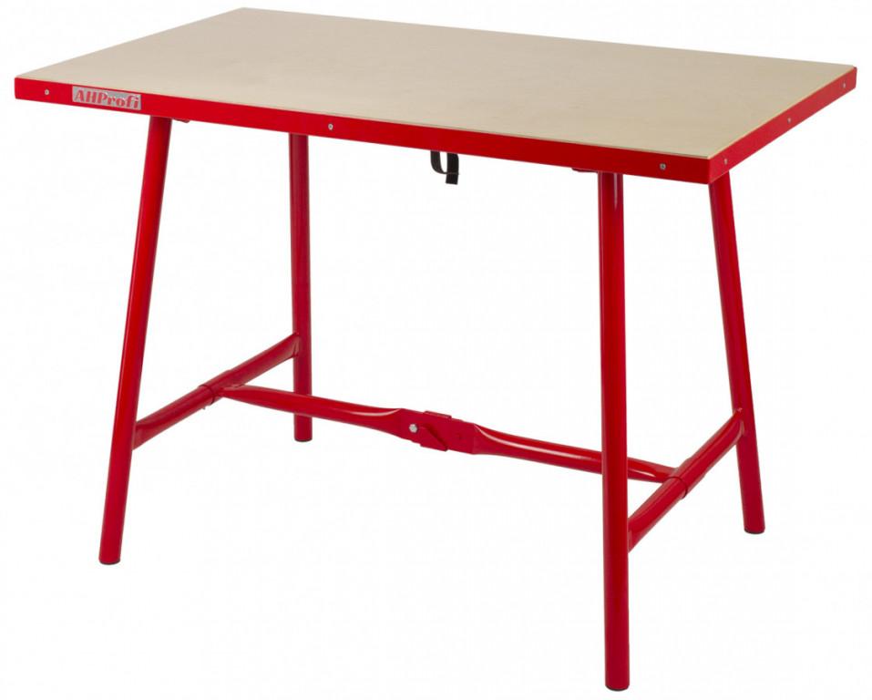 Skládací pracovní stůl do těžkých provozů - TSB4700