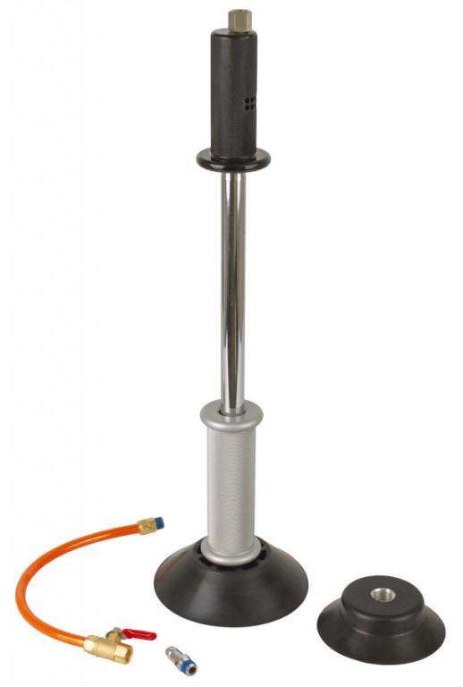 Reverzní kladivo s pneumatickou přísavkou