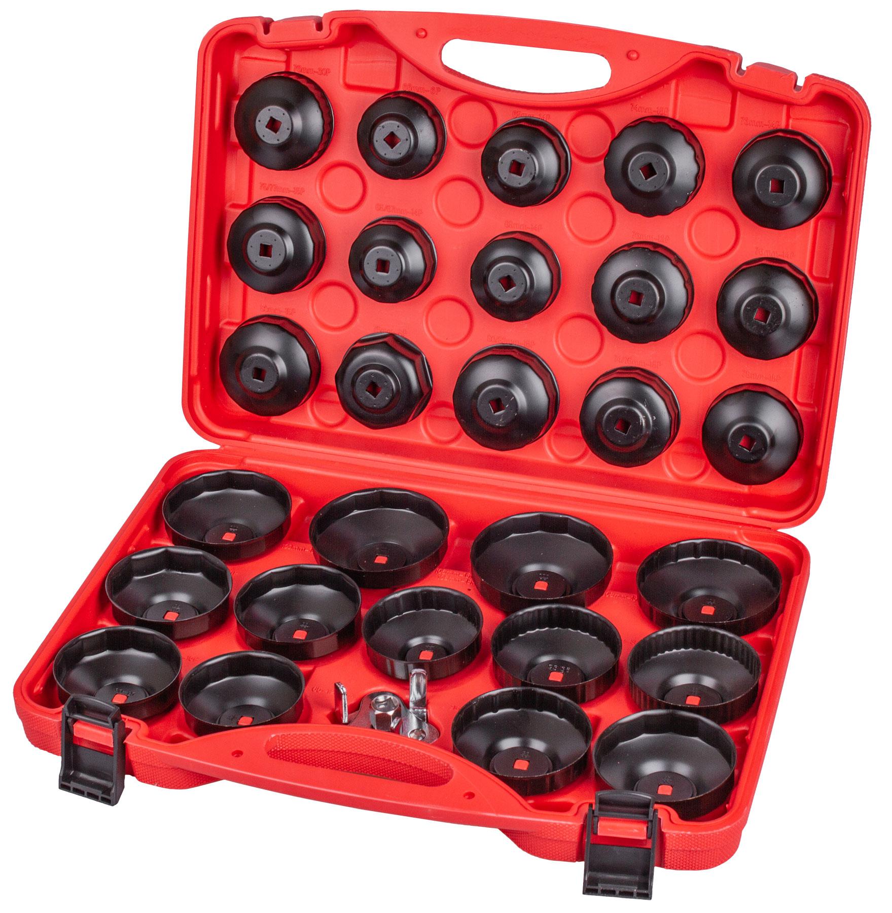Sada klíčů na olejové filtry 30ks - H2071