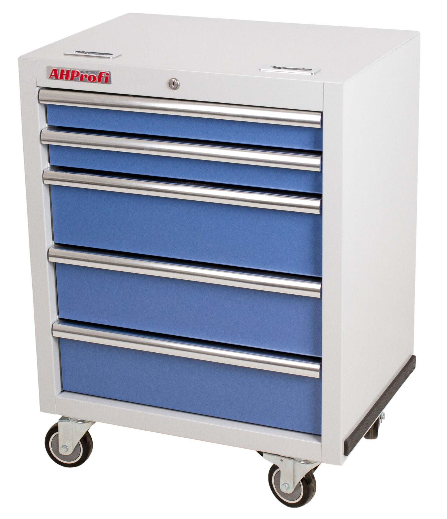 Dílenský vozík na nářadí PROFI, 5 zásuvek, modrá - MTGC1305W