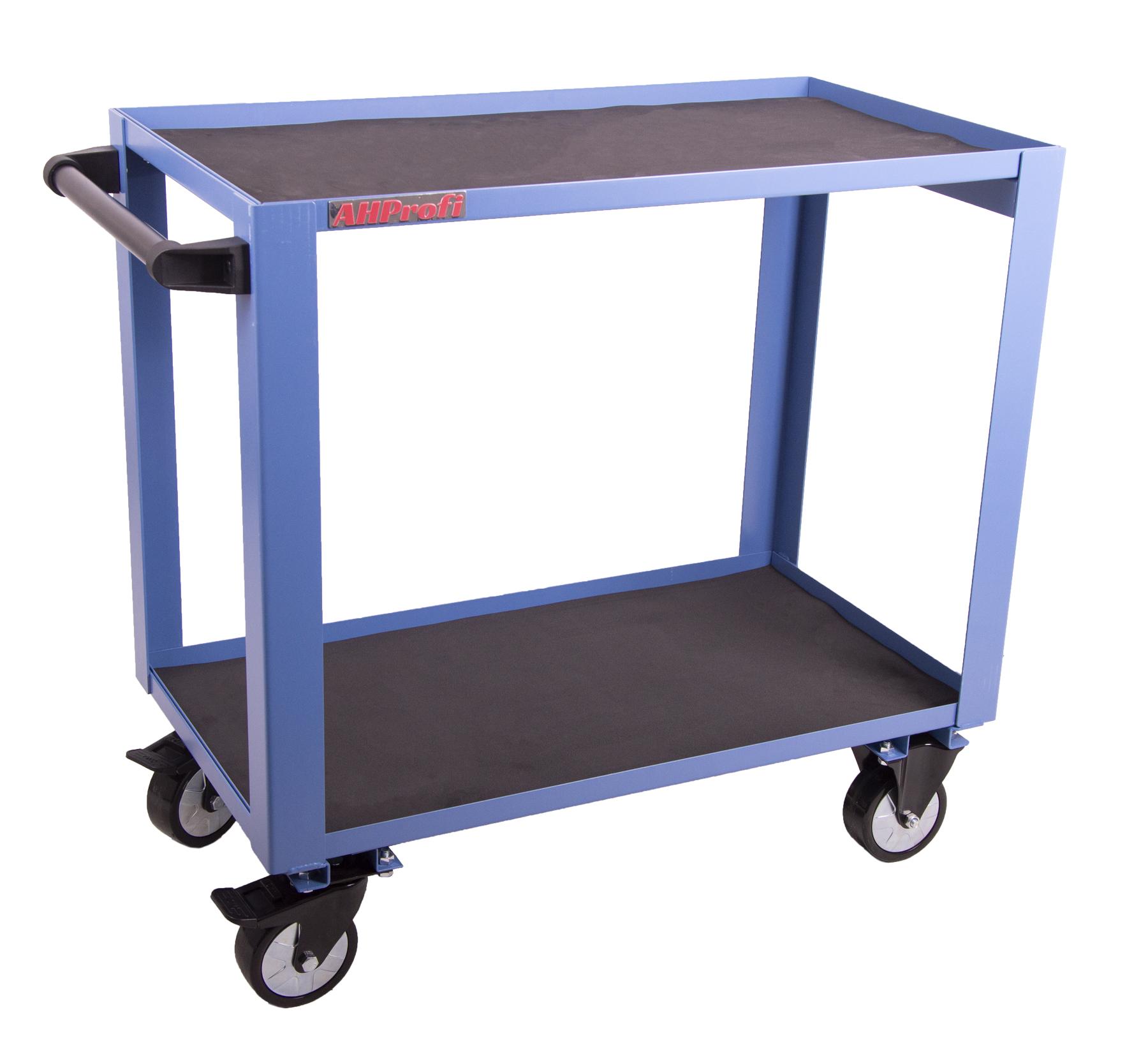 Robustní montážní vozík do těžkých provozů, nosnost 200 kg- TC400