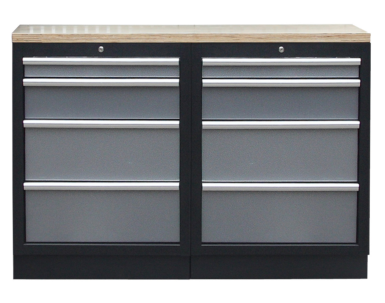 Sestava nábytku AHPROFI, vel. S, dřevěná deska - TGS1300BAL10