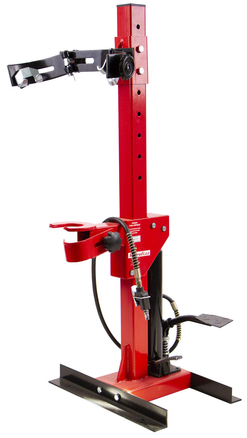 Pneumaticko hydraulický stahovák pružin 1t (GV TRK1500-5)